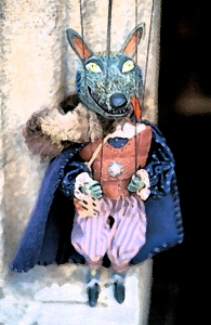 Marionette Puppet of the Big Bad Wolf