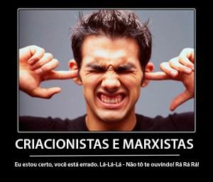 criacionismo marxismo