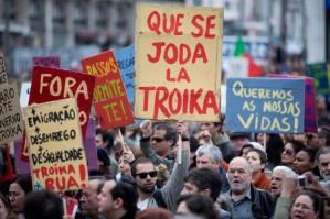 nfs nuno ferreira santos  - 2 marco 2013 - PORTUGAL, Lisboa - Manifestacao contra a Troika e as politicas do governo organizada pelo movimento