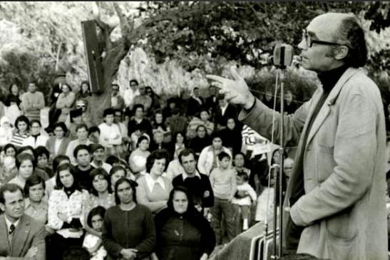 Saramago colonizando os ouvintes
