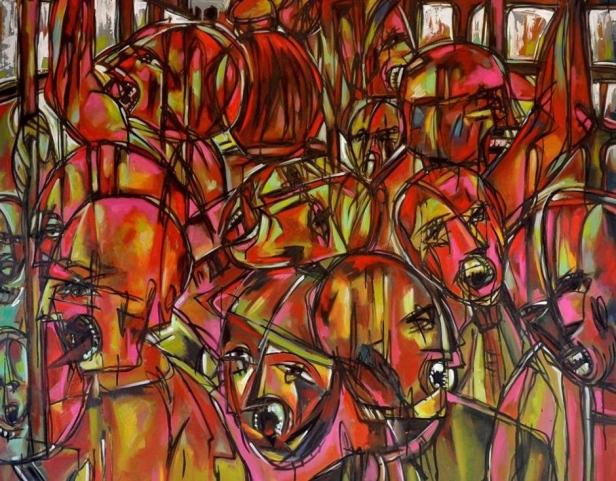 Obra do artista Diomar Lustosa