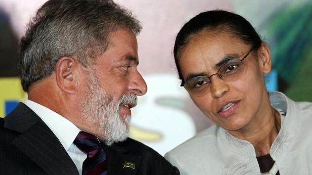 Marina Silva e Lula