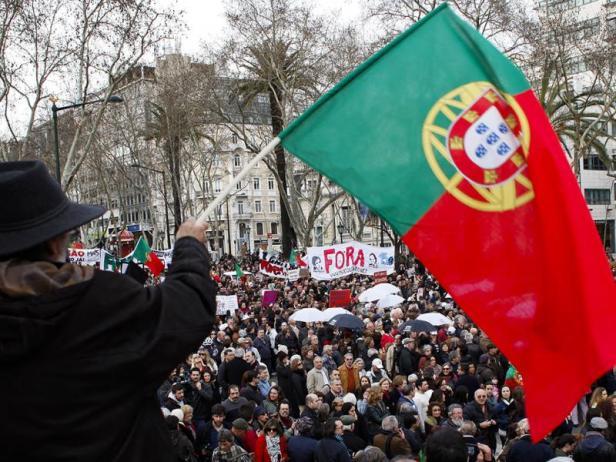Portugal anti-austeridade