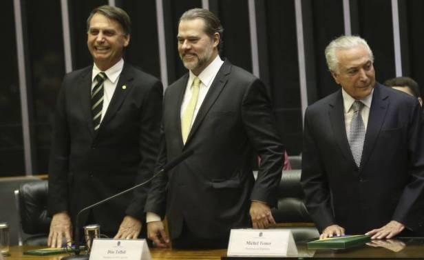 Bolsonaro Toffoli e Temer