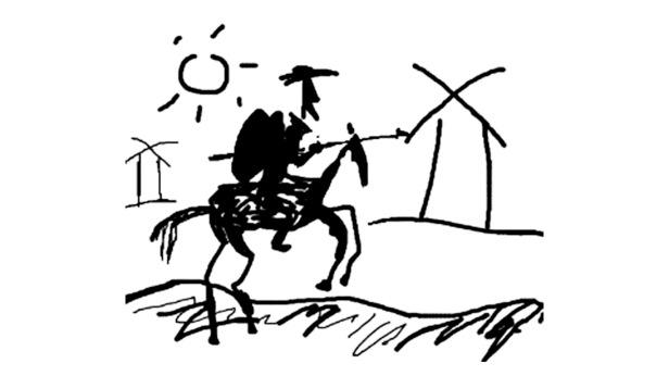 Dom Quixote e os moinhos