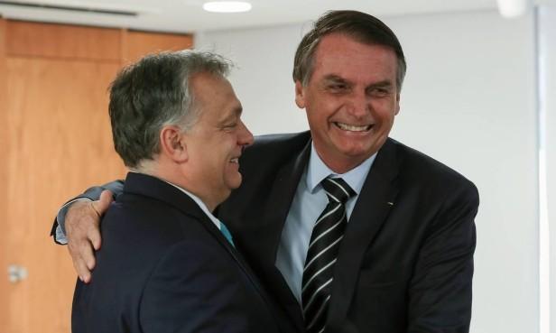 Viktor Orbán e Bolsonaro